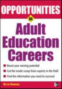 Ebook in inglese Opportunities in Adult Education Camenson, Blythe