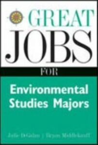 Foto Cover di Great Jobs for Environmental Studies Majors, Ebook inglese di Julie DeGalan, edito da McGraw-Hill Education