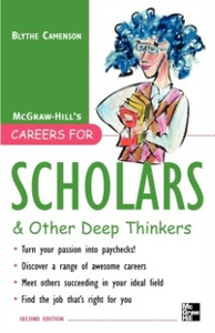 Ebook in inglese Careers for Scholars & Other Deep Thinkers Camenson, Blythe