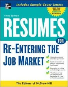 Ebook in inglese Resumes for Re-Entering the Job Market McGraw-Hill Educatio, cGraw-Hill Education