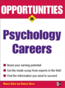 Ebook in inglese Opportunities in Psychology Careers Super, Donald