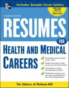 Ebook in inglese Resumes for Health and Medical Careers Books, Editors of VGM Career