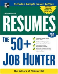 Ebook in inglese Resumes for 50+ Job Hunters Books, Editors of VGM Career