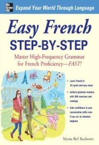 Ebook in inglese Easy French Step-by-Step Rochester, Myrna Bell