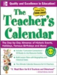 Foto Cover di Teacher's Calendar School Year 2008-2009, Ebook inglese di Editors of Chase's, edito da McGraw-Hill Education
