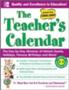 Ebook in inglese Teacher's Calendar School Year 2008-2009 Chase's, Editors of