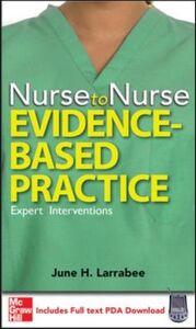 Ebook in inglese Nurse to Nurse Evidence-Based Practice Larrabee, June