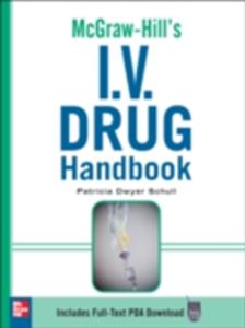 Ebook in inglese McGraw-Hill's I.V. Drug Handbook Schull, Patricia