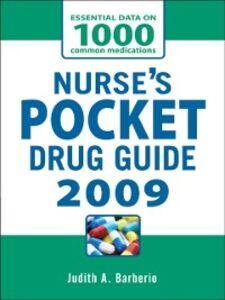 Ebook in inglese NURSES POCKET DRUG GUIDE 2009 Barberio, Judith A.