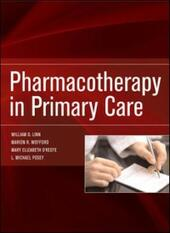 Pharmacotherapy in Primary Care