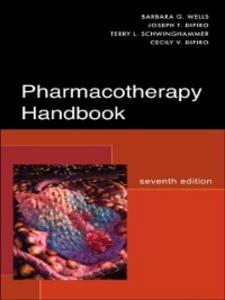 Ebook in inglese Pharmacotherapy Handbook, Seventh Edition DiPiro, Cecily V. , DiPiro, Joseph T. , Schwinghammer, Terry L. , Wells, Barbara G.
