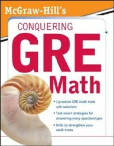 Foto Cover di McGraw-Hill's Conquering the New GRE Math, Ebook inglese di Robert E. Moyer, edito da McGraw-Hill Education
