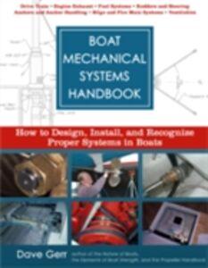 Foto Cover di Boat Mechanical Systems Handbook, Ebook inglese di Dave Gerr, edito da McGraw-Hill Education