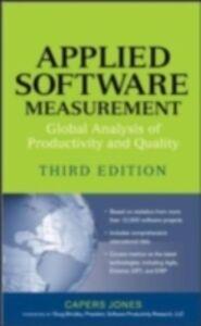 Foto Cover di Applied Software Measurement, Ebook inglese di Capers Jones, edito da McGraw-Hill Education