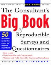 Consultant's Big Book of Reproducible Surveys and Questionnaires