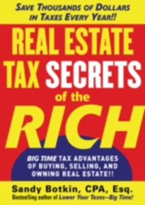 Ebook in inglese Real Estate Tax Secrets of the Rich Botkin, Sandy