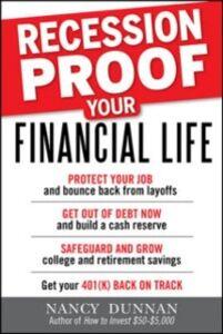 Foto Cover di Recession-Proof Your Financial Life, Ebook inglese di Nancy Dunnan, edito da McGraw-Hill Education