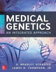 Libro Medical genetics. Con CD-ROM G. Bradley Schaefer , James Jr. Thompson