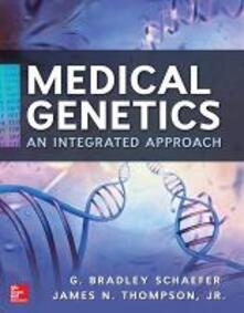 Medical genetics. Con CD-ROM - G. Bradley Schaefer,James Jr. Thompson - copertina