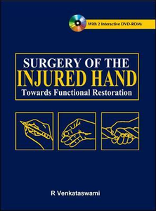Libro Surgery of the injured hand. Towards functional restoration R. Venkataswami