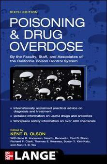 Poisoning and drug overdose - Kent R. Olson - copertina