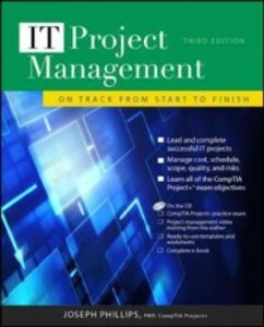 Ebook in inglese IT Project Management: On Track from Start to Finish, Third Edition Phillips, Joseph