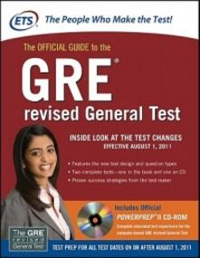 The official guide to the GRE revised general test - copertina