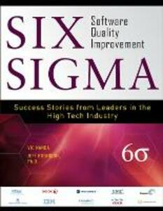 Six Sigma Software Quality Improvement - Vic Nanda,Jeffrey Robinson - cover