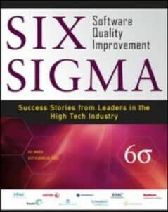 Foto Cover di Six Sigma Software Quality Improvement, Ebook inglese di Vic Nanda,Jeffrey Robinson, edito da McGraw-Hill Education