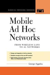 Mobile Ad Hoc Networks - George Aggelou - cover