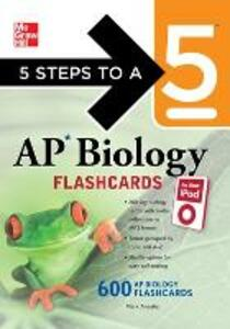 5 Steps to a 5 AP Biology Flashcards for Your iPod with MP3/CD-ROM Disk - Mark Anestis - cover