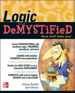 Logic DeMYSTiFied - Tony Boutelle,Stan Gibilisco - cover