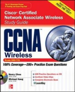 Ebook in inglese CCNA Cisco Certified Network Associate Wireless Study Guide (Exam 640-721) Chou, Henry , Kang, Michael