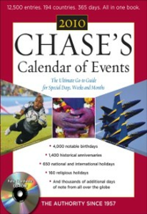 Ebook in inglese Chase's Calendar of Events 2010 Events, Editors of Chase's Calendar of