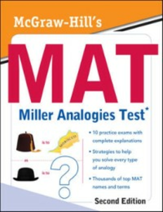 Ebook in inglese McGraw-Hill's MAT Miller Analogies Test, Second Edition Zahler, Kathy A.