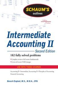 Ebook in inglese Schaum's Outline of Intermediate Accounting II, 2ed Englard, Baruch