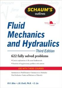 Ebook in inglese Schaum's Outline of Fluid Mechanics and Hydraulics, 3ed Evett, Jack , Giles, Ranald , Liu, Cheng