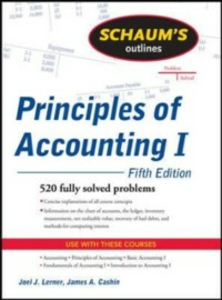 Ebook in inglese Schaum's Outline of Principles of Accounting I, Fifth Edition Cashin, James , Lerner, Joel
