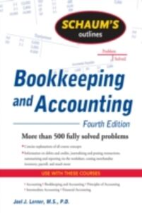 Foto Cover di Schaum's Outline of Bookkeeping and Accounting, Fourth Edition, Ebook inglese di Rajul Gokarn,Joel Lerner, edito da McGraw-Hill Education