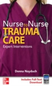 Ebook in inglese Nurse to Nurse Trauma Care Nayduch, Donna