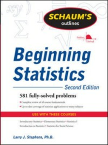 Ebook in inglese Schaum's Outline of Beginning Statistics, Second Edition Stephens, Larry