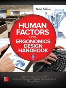 Foto Cover di Human Factors and Ergonomics Design Handbook Third Edition, Ebook inglese di AA.VV edito da McGraw-Hill Education