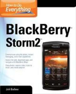 How to Do Everything BlackBerry Storm2 - Joli Ballew - cover