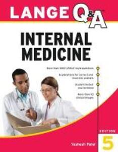 Lange Q&A Internal Medicine - Yashesh Patel - cover