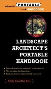 Ebook in inglese Landscape Architect's Portable Handbook Brown, Kyle , Dines, Nicholas