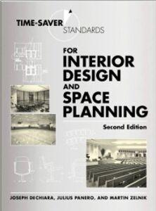 Ebook in inglese Time-Saver Standards for Interior Design and Space Planning DeChiara, Joseph , Panero, Julius , Zelnik, Martin