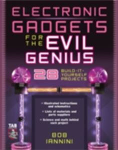 Ebook in inglese Electronic Gadgets for the Evil Genius Iannini, Robert