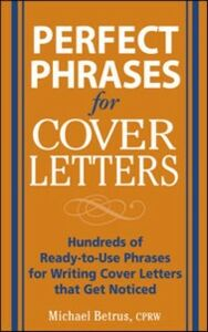 Ebook in inglese Perfect Phrases for Cover Letters Betrus, Michael