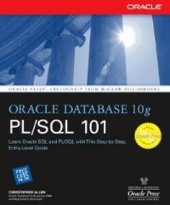 Ebook in inglese Oracle Database 10g PL/SQL 101 Allen, Christopher
