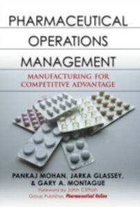 Foto Cover di Pharmaceutical Operations Management, Ebook inglese di AA.VV edito da McGraw-Hill Education